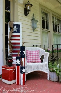 Front Porch & Outdoor 4th of July Decorating Ideas  The ...