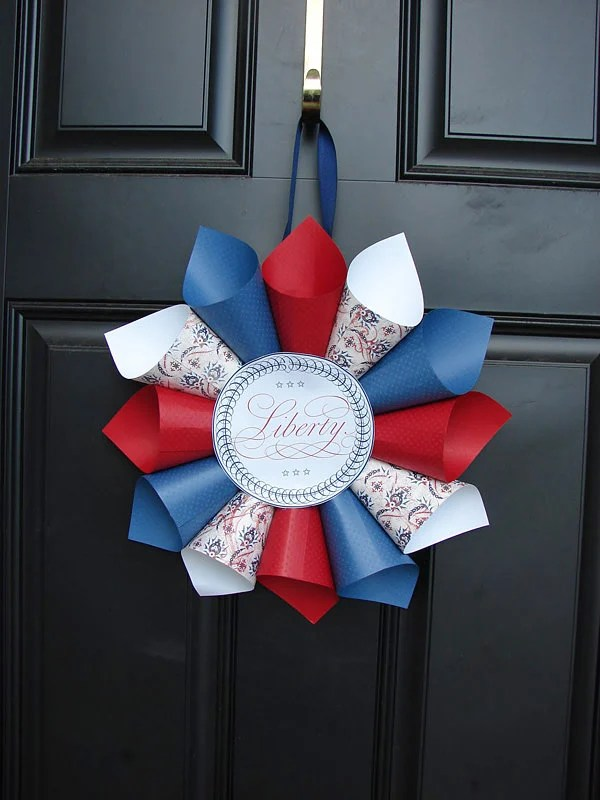 Front Porch  Outdoor 4th of July Decorating Ideas  The