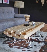 DIY Cool Coffee Table Ideas & Projects  The Budget Decorator