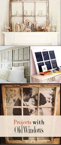 13 Creative DIY Projects with Old Windows  The Budget ...