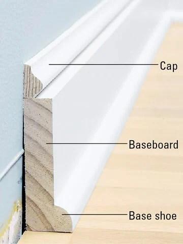 Craftsman Style Baseboard Molding