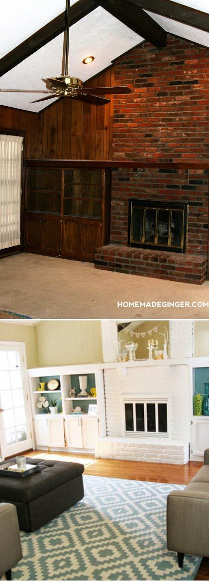 how to redo kitchen cabinets on a budget kitchener triple basket deep fryer paint transformations - 5 amazing diy makeovers • the ...