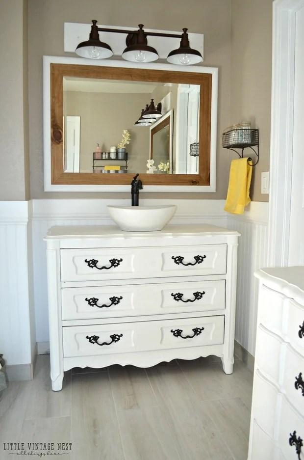 12 Creative Diy Bathroom Vanity Projects The Budget Decorator