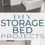 Diy Storage Bed Projects The Budget Decorator