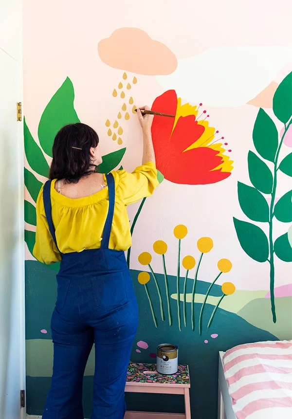 how to paint wall