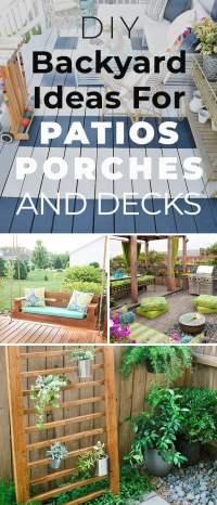 12 DIY Backyard Ideas for Patios, Porches and Decks  The ...