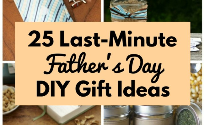 25 Last Minute Father S Day Diy Gift Ideas The Budget Diet