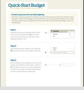 Quick-Start Budget