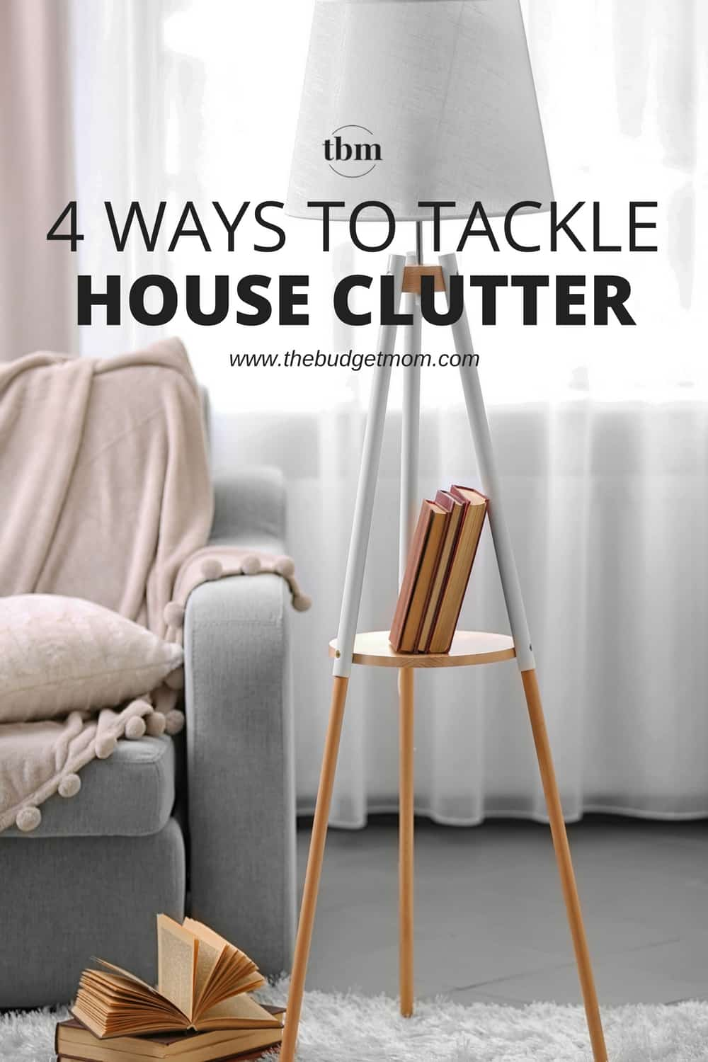 When you have a cluttered home, it can be hard to de-stress and relax. Here are a few tips to finally clear the clutter from your home.
