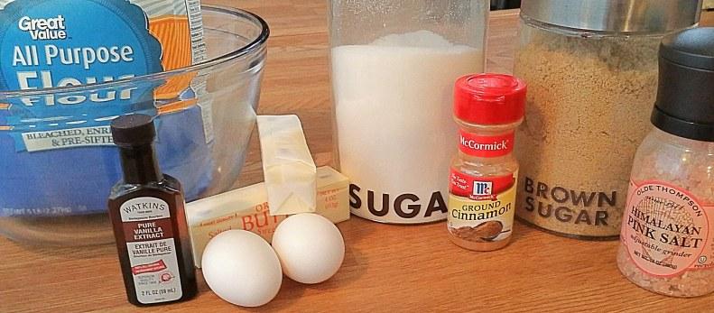 Snickerdoodle Bars Ingredients