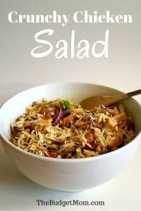 Crunchy Chicken Salad Pinterest