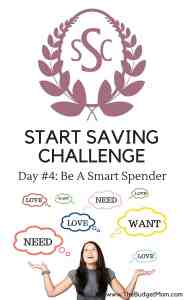 spend,saving,save,challenge,spender,goals,wants,needs,smart spender,intentionally,loves,must haves