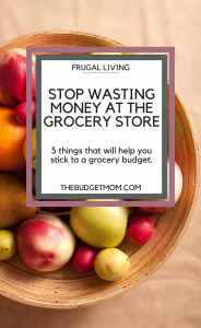 grocery,groceries,grocery list,spending,budget,budgeting,food,meal plan,meals