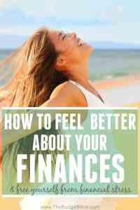 It's normal to feel a little anxious when pursuing your financial goals but that doesn't mean you should resort to feeling completely overwhelmed. Whether you feel like you are not saving enough, not earning enough, have too much debt, or feel guilty about a recent purchase, you could probably use a financial mood boost. Click to read about 3 ways to start feeling better about your finances today. #1 is so important!