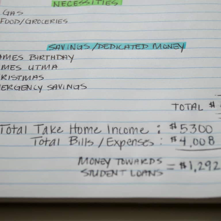 How to Create a Budget (When You Really Don't Want To) | The Budget Mom