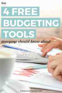 Taking charge of your financial life is so much easier with the right budgeting tools. Check out these four free budgeting tools that allow you to track, manage, and plan a budget designed specifically for you.