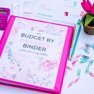 Our 2017 Budget Binder (A Plan for Every Dollar)