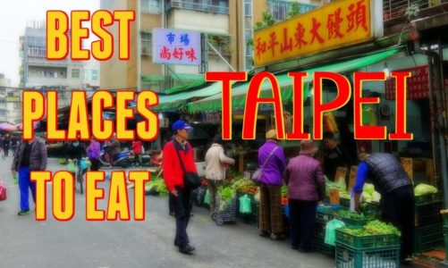 Taipei Taiwan | Best Places to Eat Like a Local