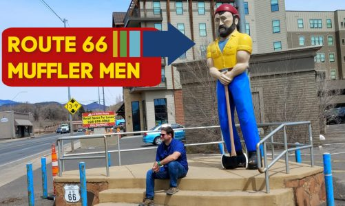 Flagstaff Muffler Men | The Story Behind the Route 66 Giant Men