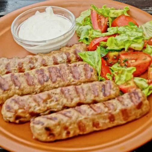 Chisinau Moldova La Placinte Sausage Platter