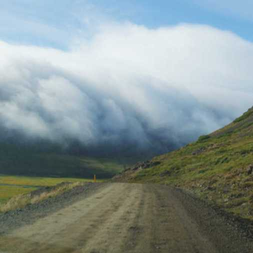 Driving in the Clouds Iceland Route 61 Itinerary - Copy