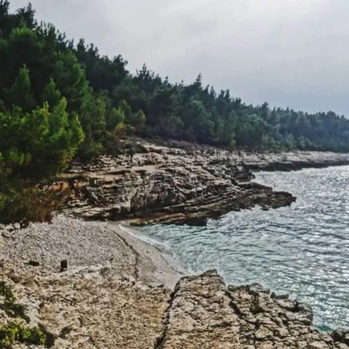 Istria Croatia Kamenjak Peninsula Coastline