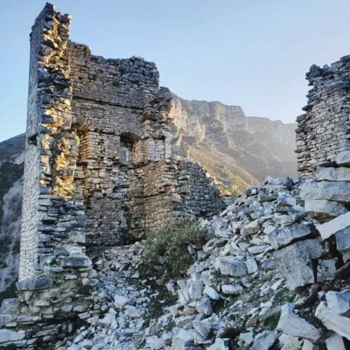 Kelcyra Castle Ruins