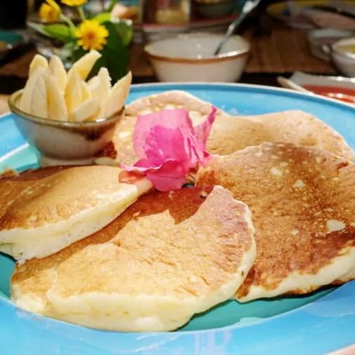 Pangloa and Bohol Island La Casita de Baclayon Pancake Breakfast