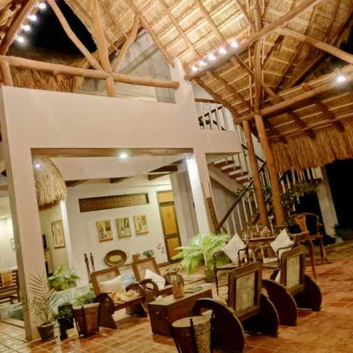 Pangloa and Bohol Island La Casita de Baclayon vaulted ceilings