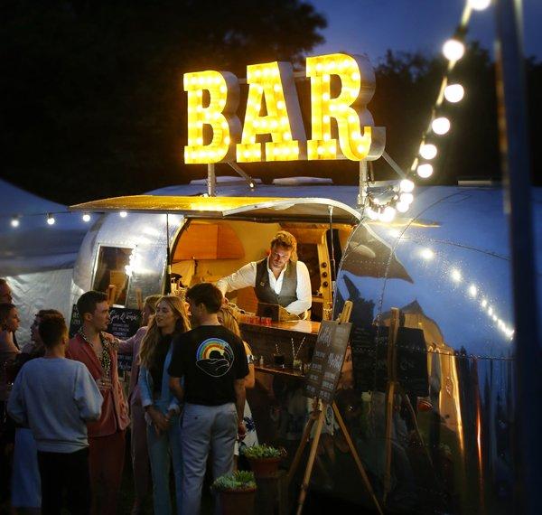 Glamorous Party Bar The Buffalo Airstream Mobile Bar