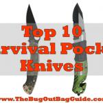 survival pocket knives