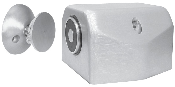 ABH 2600 Recessed ElectroMagnetic Door Holder  Single