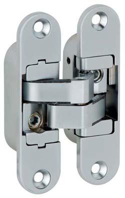 Hafele 92791544 Concealed Hinge Chrome Matt