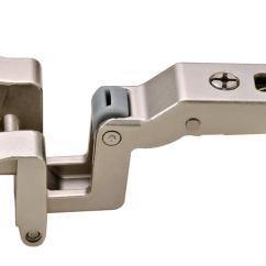 Kitchen Drawer Slides Cabinets Organizers Hafele 329.58.610 Institutional Hinge, Nickel ...