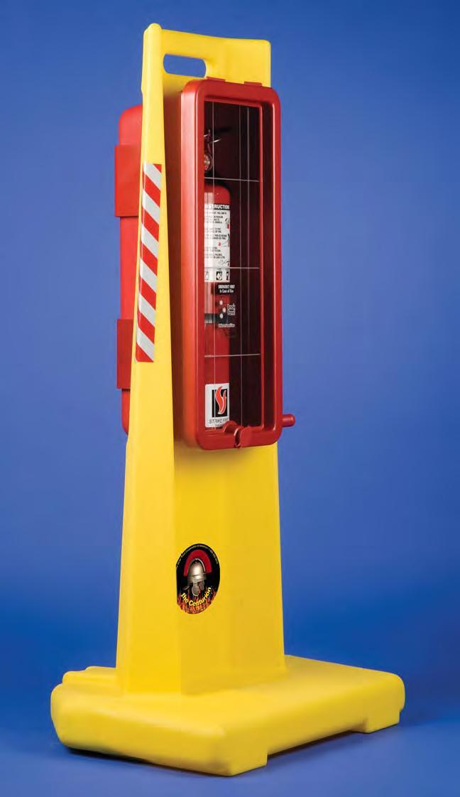 Strike First CENTURION10 Portable Fire Extinguisher Stand