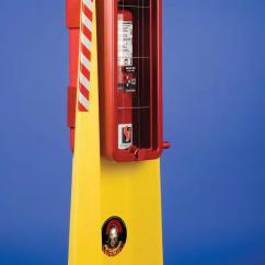 Kitchen Cabinet Storage Solutions Splash Guard Sink Strike First Centurion-10 Portable Fire Extinguisher Stand ...