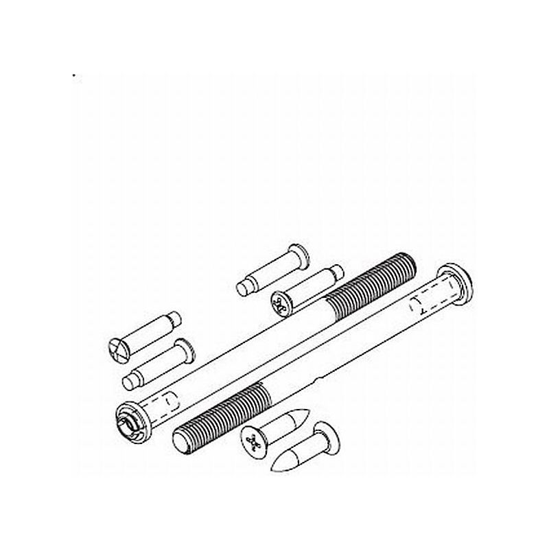 Kwikset 81261-515 Screw Pack for 985 Double Cylinder