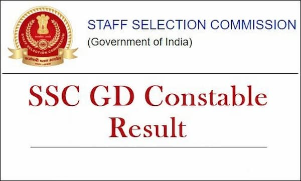 SSC Constable GD Final Result