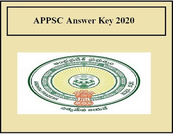 APPSC Answer Key 2020