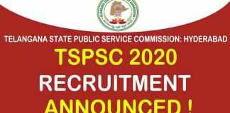 Telangana PSC Recruitment 2020