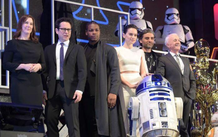 'Star Wars: The Rise of Skywalker' cast