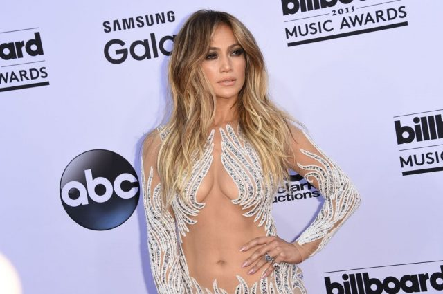 Jennifer Lopez at the 2015 Billboard Music Awards on May 17, 2015