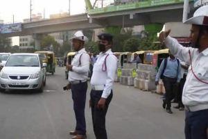 gurugram traffic police