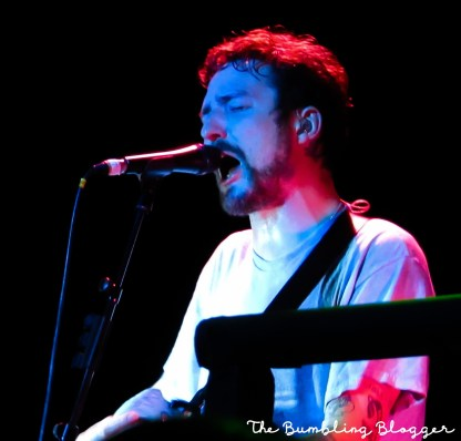 Frank Turner performing at Level III in Swindon