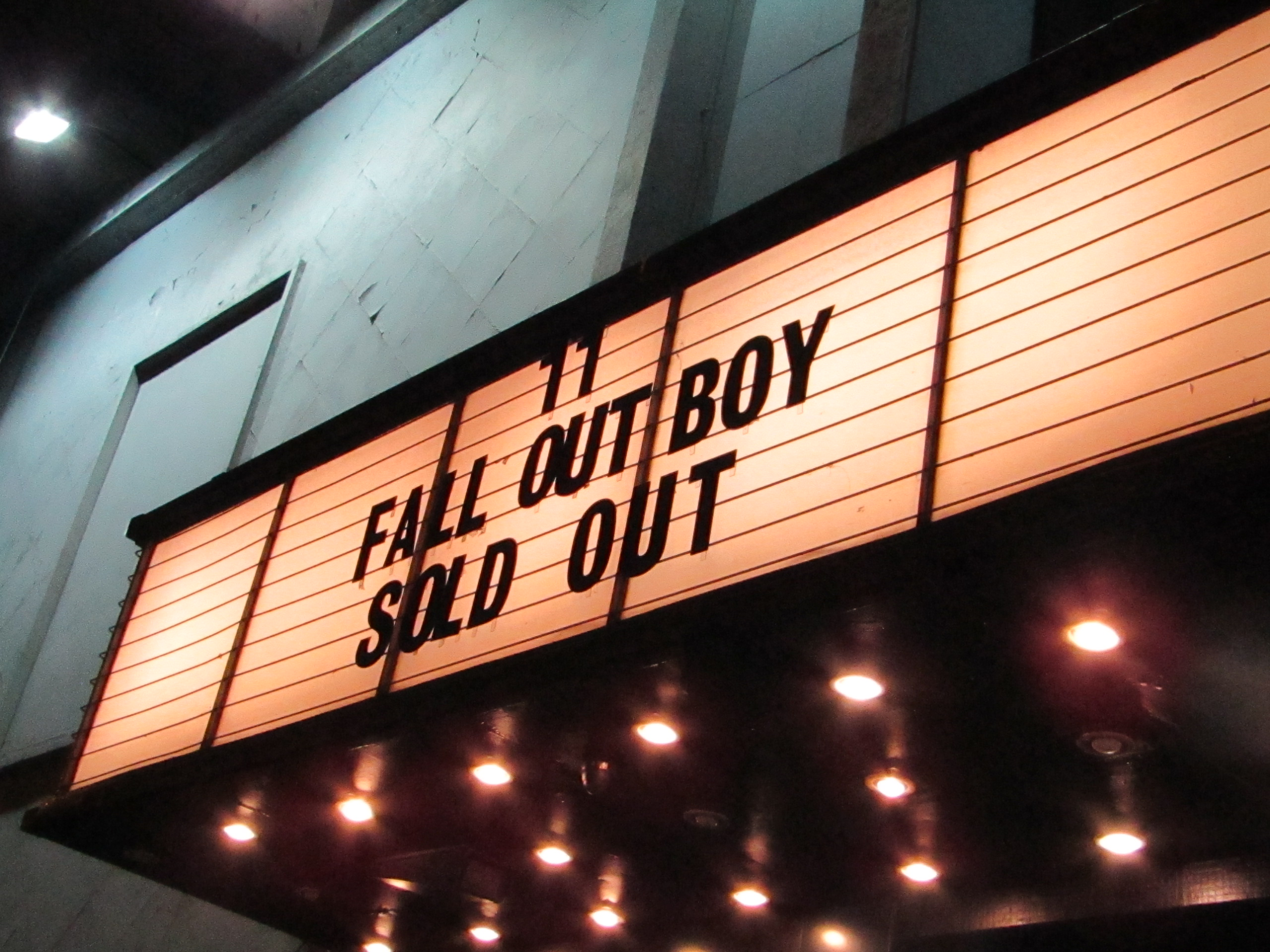 Review: Fall Out Boy – Electric Brixton, 11/01/2018