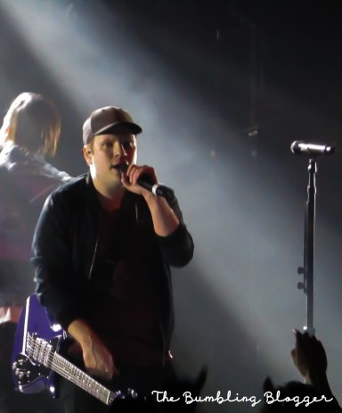 Patrick Stump performing at Electric Brixton