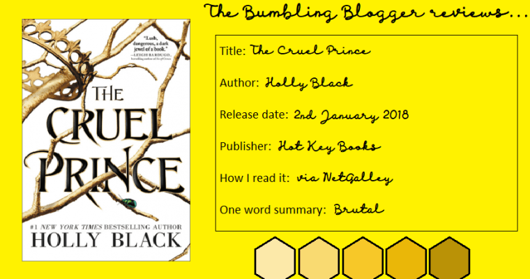 Review: The Cruel Prince by Holly Black