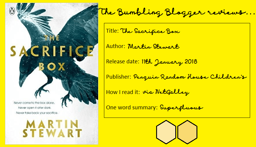 Review: The Sacrifice Box by Martin Stewart