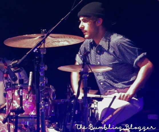 Zac Farro of Paramore performing at The O2 Arena