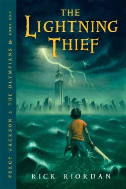 The Lightning Thief by Rick Riordan cover